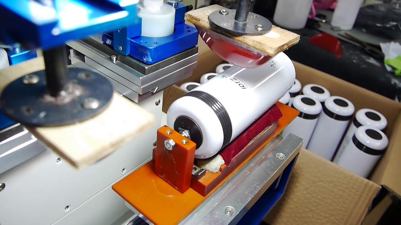 Stampa su thermos: borracce personalizzate in tampografia