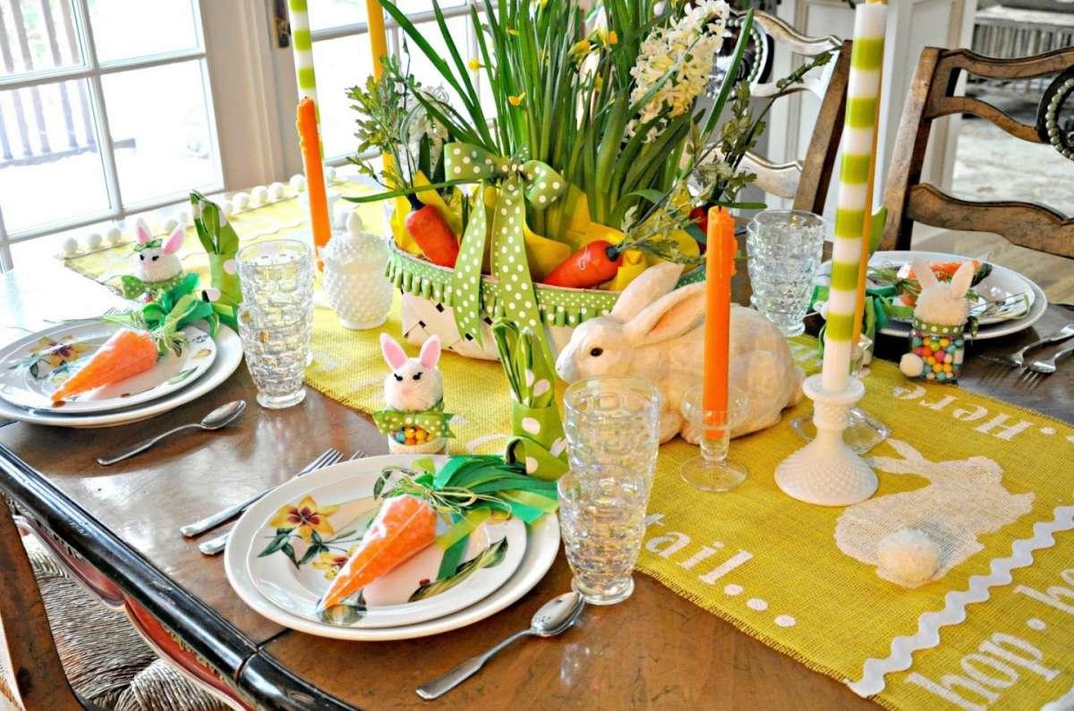Pasqua 2019: come decorare la tavola con forniture alberghiere personalizzate