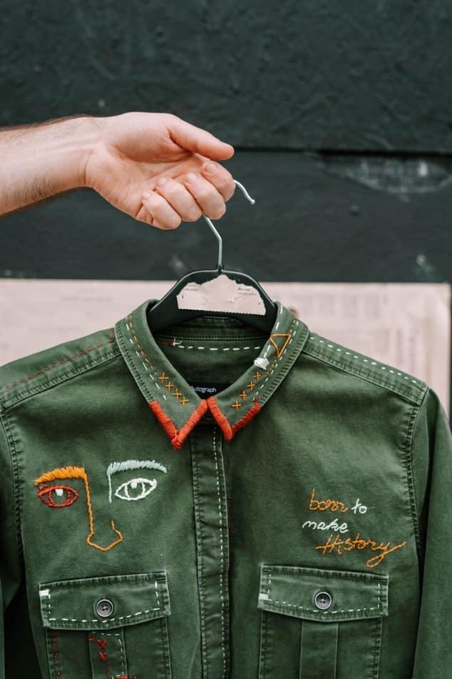 Ricamo su abbigliamento: la 'firma' che personalizza il tuo stile